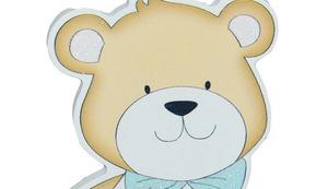 Teddybär-Garderobenhaken