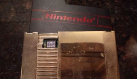 NES World Championship GOLD Cart