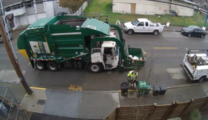 Mülltonne zu schwer
