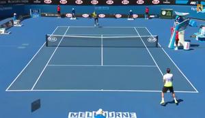 Balljunge bei den Australien Open