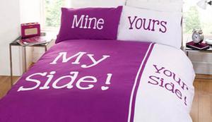 Bettwäsche für Paare