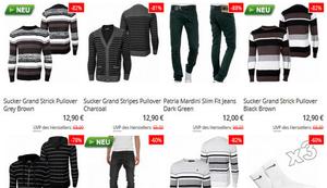 Bis zu 90% Rabatt auf Streetwear