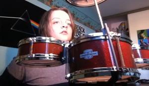 Neues Schlagzeug zu Weihnachten