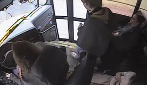 Von der Busfahrerin gerettet