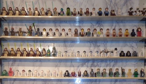 Komplette Star Wars Figuren Sammlung