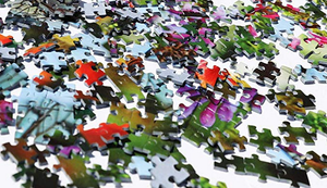 Puzzle mit 52110 Teilen