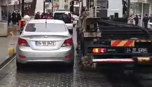 Auto abschleppen ohne Kran