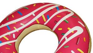 Donut mit Biss