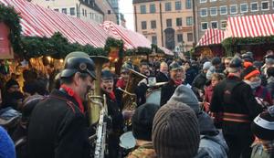 Cantinaband auf dem Weihnachtsmarkt