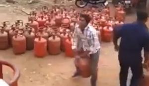 Gasflaschen aufladen