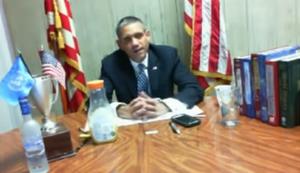 Barack Obama auf Chatroulette