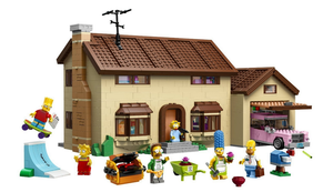 Das Simpsons Lego Haus