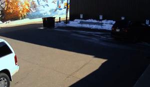 Im Schatten geparkt