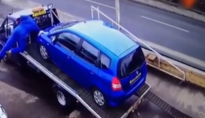 Auto abladen