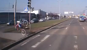 Radfahrer-Fail-Compilation
