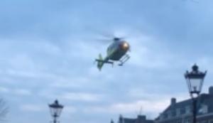 Punktgenaue Landung in Amsterdam