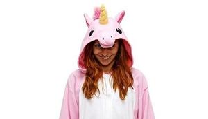 Einhorn-Pyjama-Kostüm