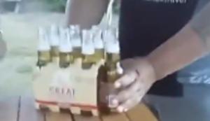 Ein paar Bier trinken