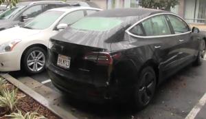 Kleiner Designfehler bei Tesla