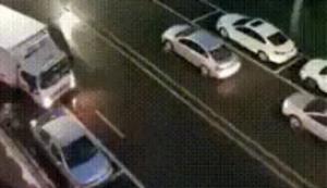 Spontane Autowäsche