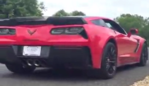 Mit der Corvette ins Gr�ne