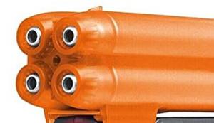 Pfefferspraypistole mit Laser