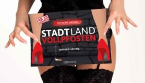 Stadt Land Vollpfosten Rotlicht Edition