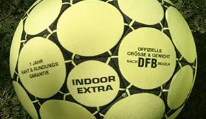 Indoor Fussball aus Echtleder