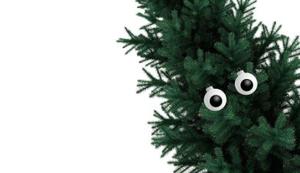 2 Christbaumkugeln