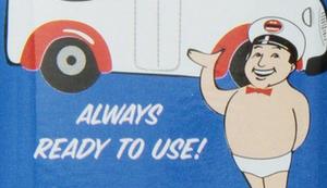 Archie McPhee Notfall Unterhose