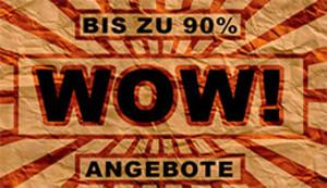 WOW-Sale - bis zu 90% auf Streetwear sparen!