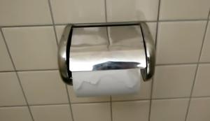 Toilettenpapierhalter in Japan