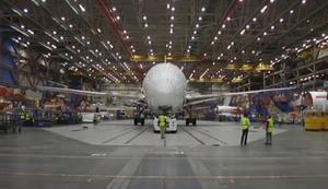 Boeing 787-9 Dreamliner zusammenschrauben