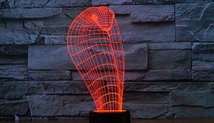 Stimmungs-Lampe mit 3D-Effekt