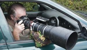 Kamera- und Objektivauflage