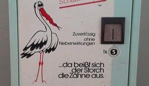 Anti-Babyzäpfchenautomat