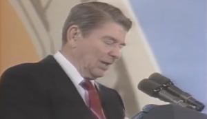 Ronald Reagan und der Ballon