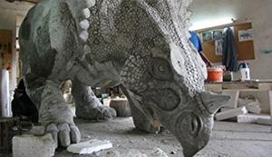 Triceratops (Lebensgroß)