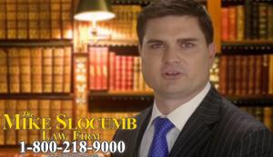 TV-Spot eines US-Anwalts