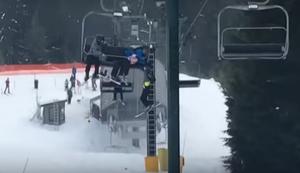 Helden am Skilift