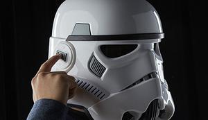 Stormtrooper Helm mit Stimmenverzerrer