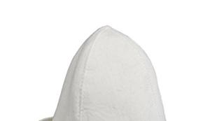 Sauna-Hut mit passendem Spruch