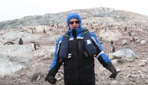 Wie reagieren Pinguine auf einen Operns�nger?
