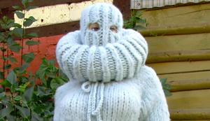 Der Ganzkörper-Pullover