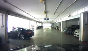Mal schnell den Porsche umparken
