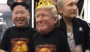 Kim Jong-un, Trump und Putin