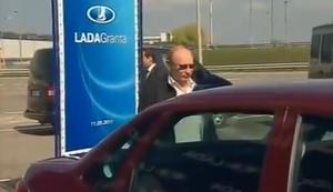 Putin f�hrt jetzt Lada
