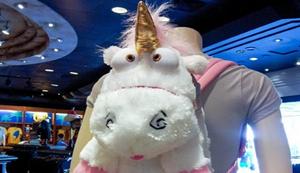 Fluffy Rucksack