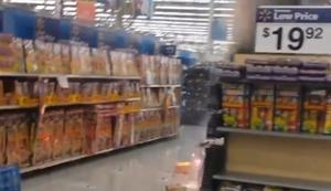 Feuerwerk im Walmart