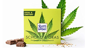 Ritter Sport Schoko und Gras